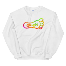 Load image into Gallery viewer, Neon On-On Paint Splatter - Unisex Sweatshirt