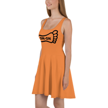 Load image into Gallery viewer, Orange Dress On-On Hash Foot Logo (Can be personalized. Contact prior to ordering)