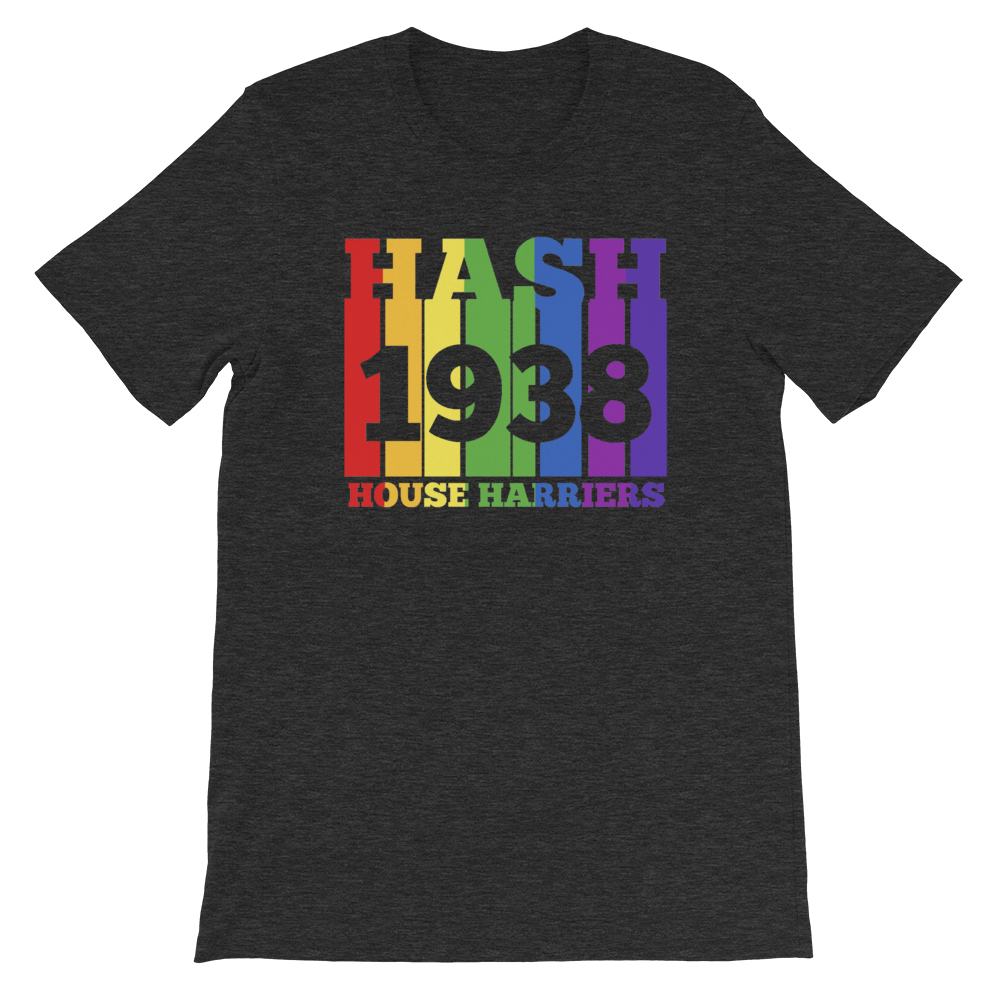 Rainbow Hash House Harriers 1938 - Short-Sleeve Unisex T-Shirt