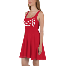 Load image into Gallery viewer, Red Dress On-On Hash Foot Logo (Can be personalized. Contact prior to ordering)