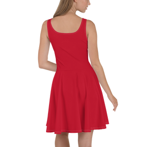 Red Dress On-On Hash Foot Logo (Can be personalized. Contact prior to ordering)