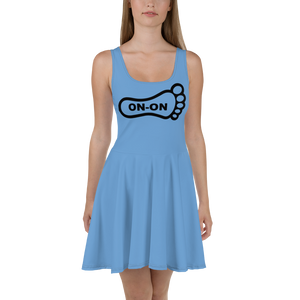Blue Dress On-On Hash Foot Logo (Can be personalized. Contact prior to ordering)