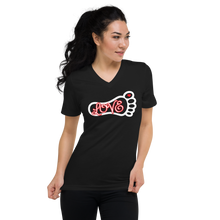 Load image into Gallery viewer, Love - Unisex Short Sleeve V-Neck T-Shirt