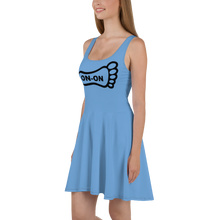 Load image into Gallery viewer, Blue Dress On-On Hash Foot Logo (Can be personalized. Contact prior to ordering)
