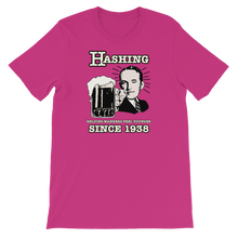 "Load image into Gallery viewer, ""Hashing since 1938"" - Short-Sleeve Unisex T-Shirt"