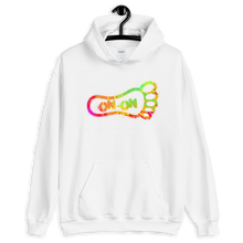 Load image into Gallery viewer, Neon On-On Paint Splatter - Unisex Hoodie