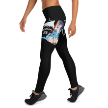 Load image into Gallery viewer, PatchWhore H3 - Black Leggings