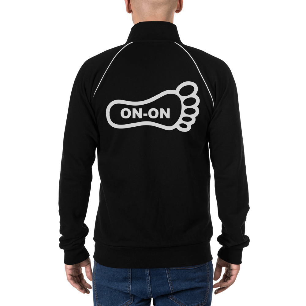 On-On Hash Foot Men's Piped Fleece Jacket