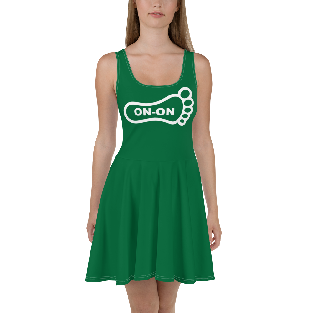 Green Dress On-On Hash Foot Logo (Can be personalized. Contact prior to ordering)