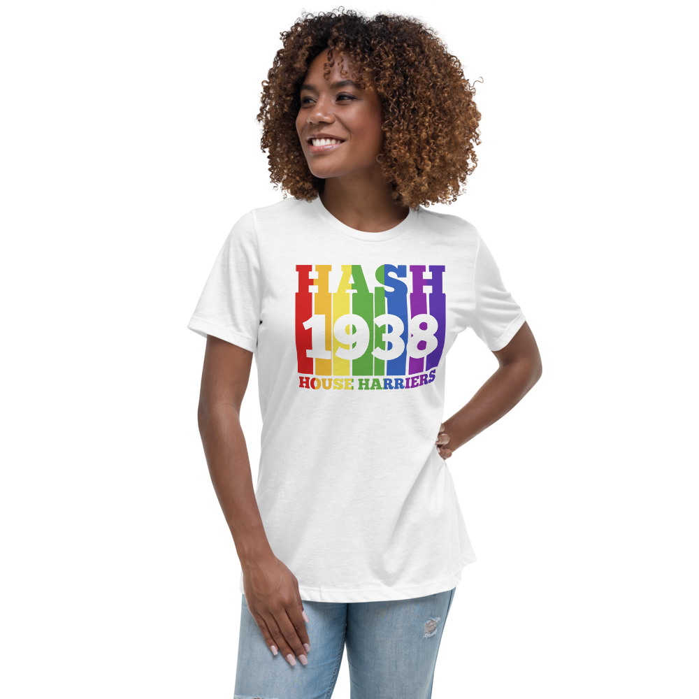 Rainbow Hash House Harriers 1938 - Women's Relaxed T-Shirt