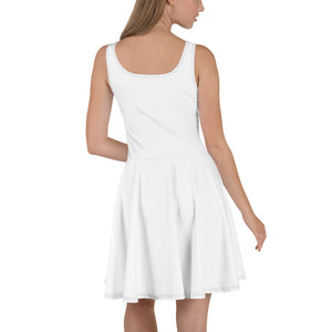 White Dress On-On Hash Foot Logo (Can be personalized. Contact prior to ordering)