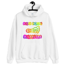 Load image into Gallery viewer, Hash House Harriers Neon Paint Splatter Unisex Hoodie
