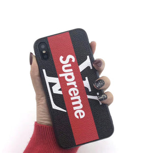 SUPREME X LV IPHONE CASE-Millennial Watches
