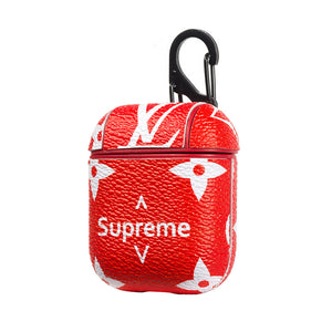 LV X SUPREME STYLE AIRPODS CASE-Millennial Watches