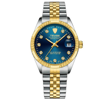 Gold Stainless Steel Watch-Millennial Watches