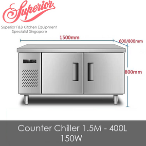 Counter Chiller 1.5M - 400L