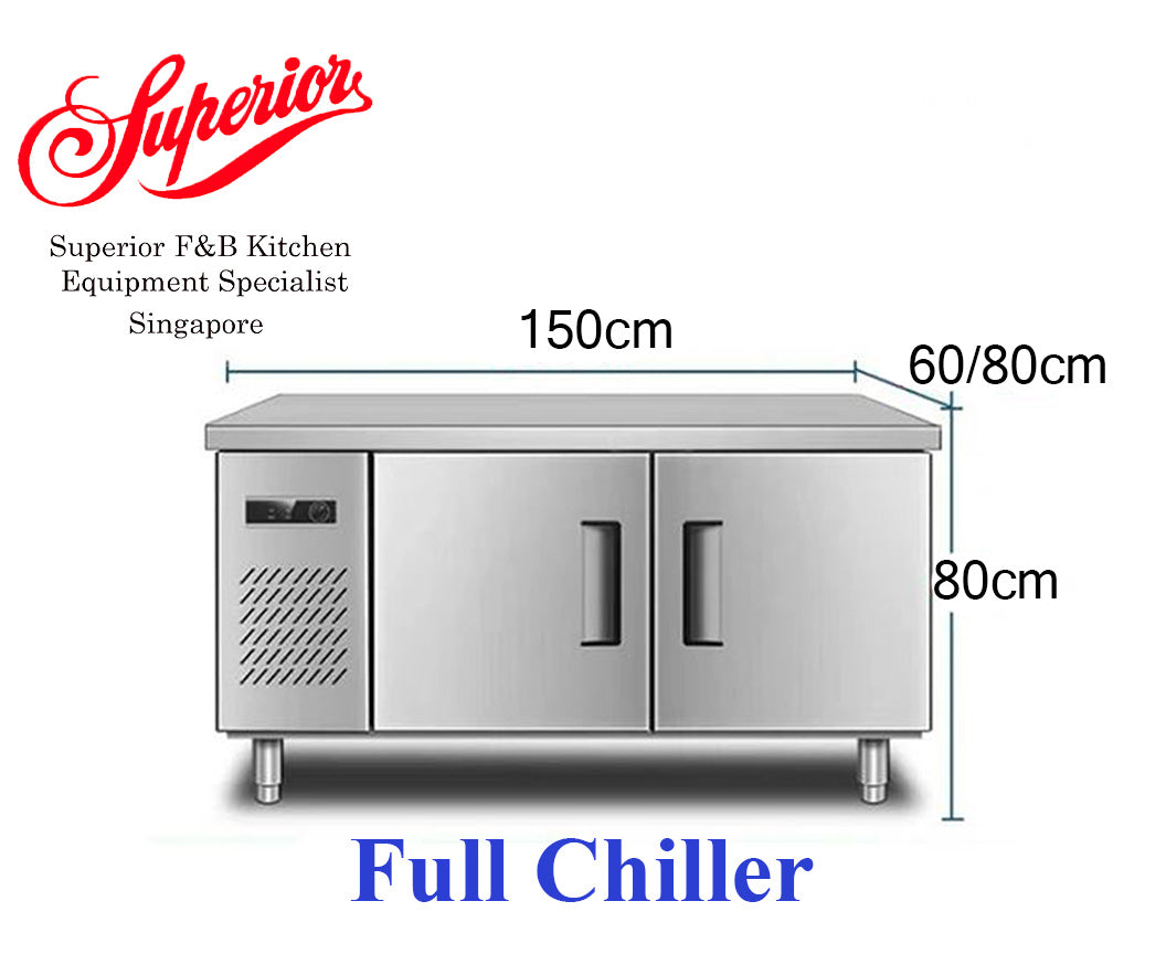 1.5m Counter Full Chiller