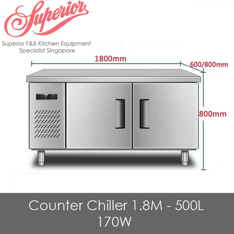 Counter Chiller 1.8M - 500L