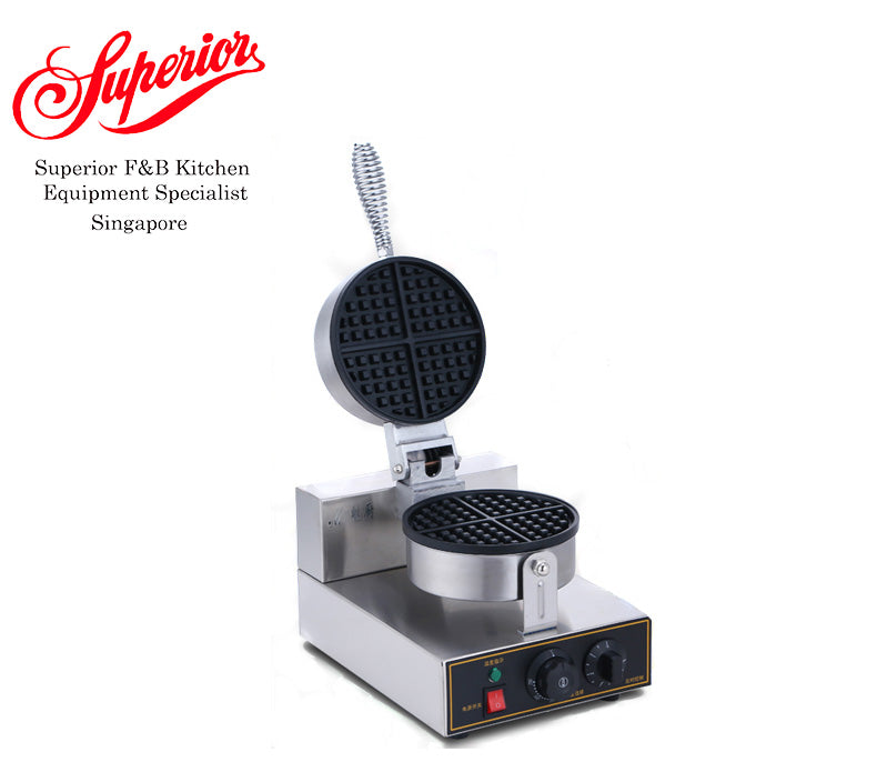 Single Waffle Bakery Thin Maker
