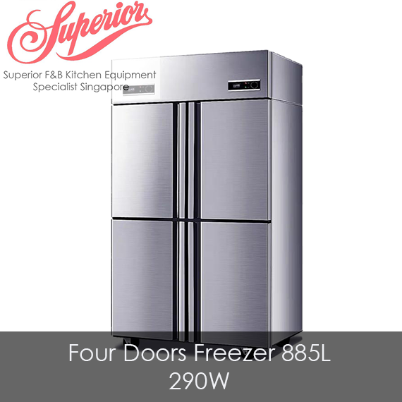 Four Doors Full Freezer 885L