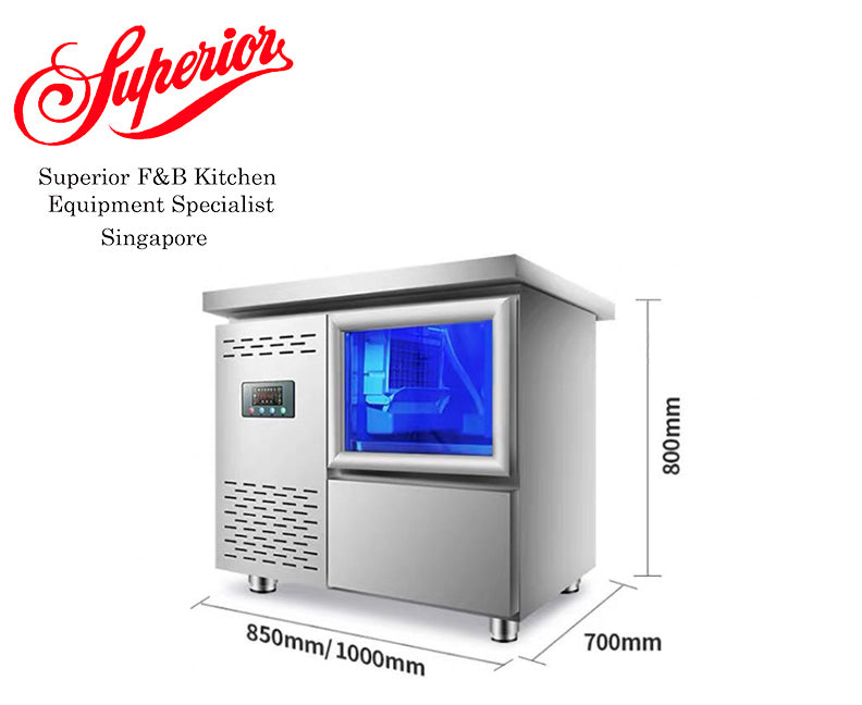 Undercounter Ice Machine Maker 15KG Bin (55KG Production / Day)