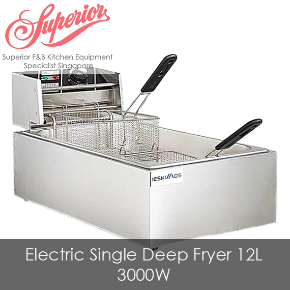 Electric Single Deep Fryer 12L
