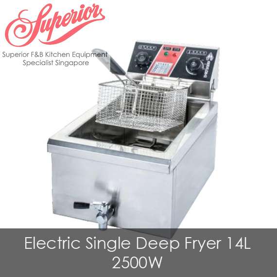 Electric Single Deep Fryer 14L