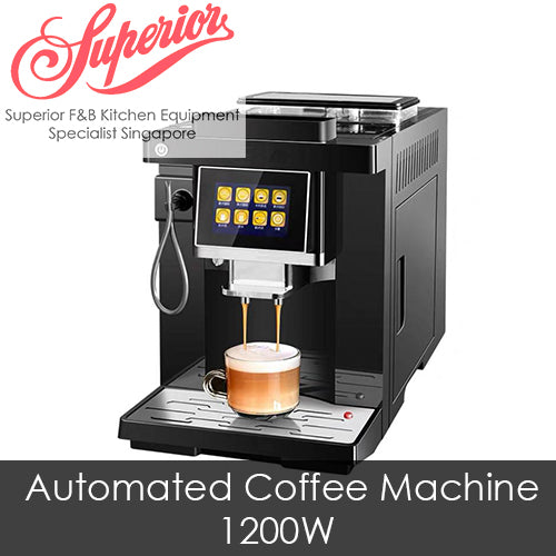 Automated Italian Coffee Machine