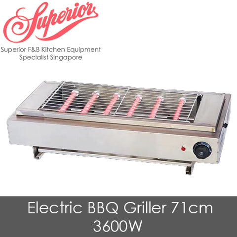 Electric BBQ Griller 71cm