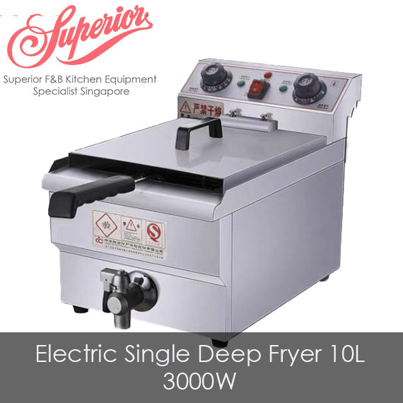 Electric Single Deep Fryer 10L