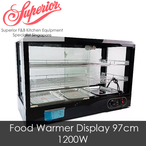 Egg Tart/Food Warmer Display 97cm