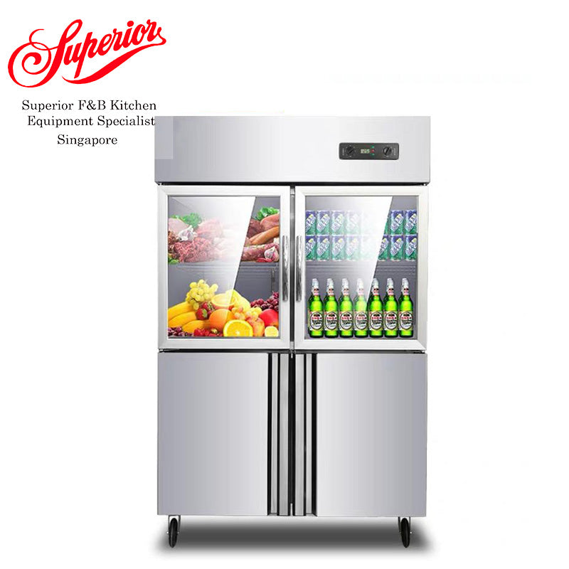 Freezer Chiller up down Glass Display