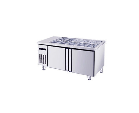 Counter Chiller with Topping Holes