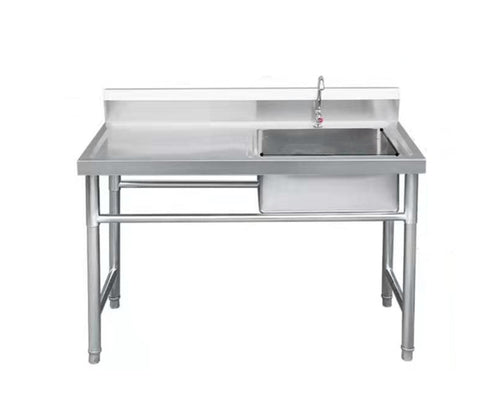 Single Sink with Left Worktop