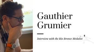 In The Shoes Of  Gauthier Grumier, Rio Bronze Medalist