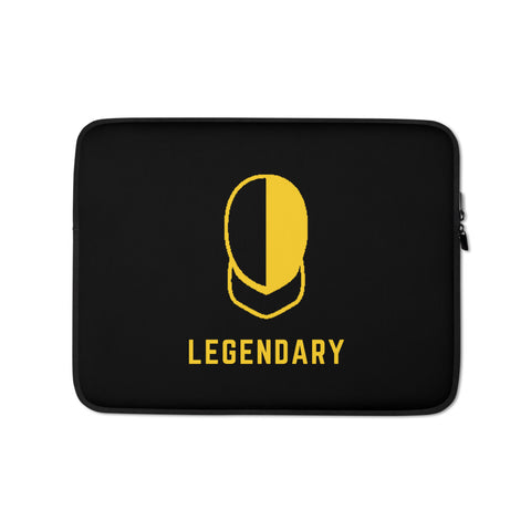 Laptop Legendary Fencing MaskSleeve