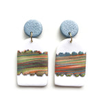 Three Generations Medium Arch Drop Earrings