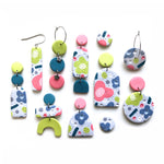 Pastel Blossoms Multi Drop Earrings
