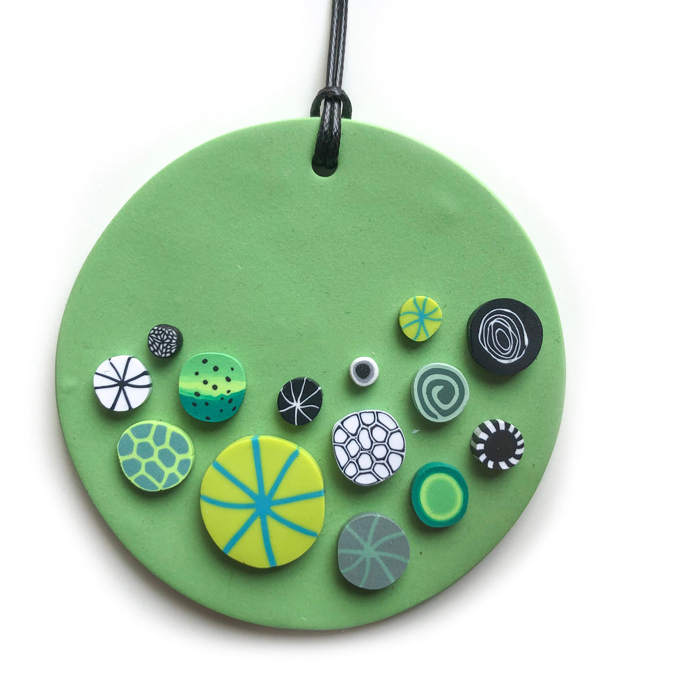 Rock Candy Green Wall Hanging - Heidi Helyard