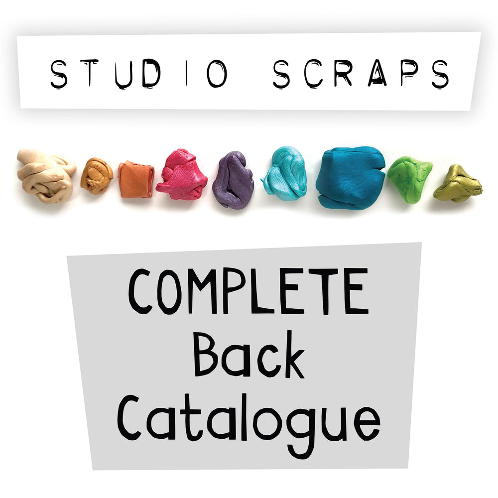 Studio Scraps COMPLETE Back Catalogue (Issues 1-72)