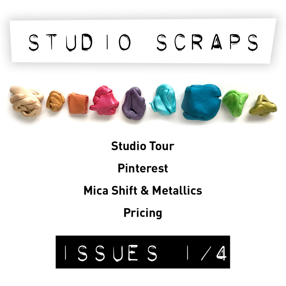 Studio Scraps (Back Issues 1-4) - Heidi Helyard