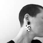 Polished Sketches Mega Circle Drop Earrings 21