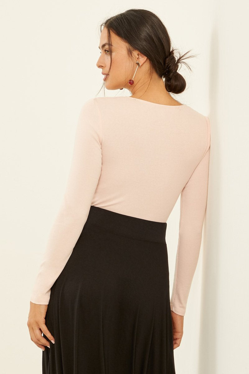 Three Dots Womens Refined Jersey Loose Short Top