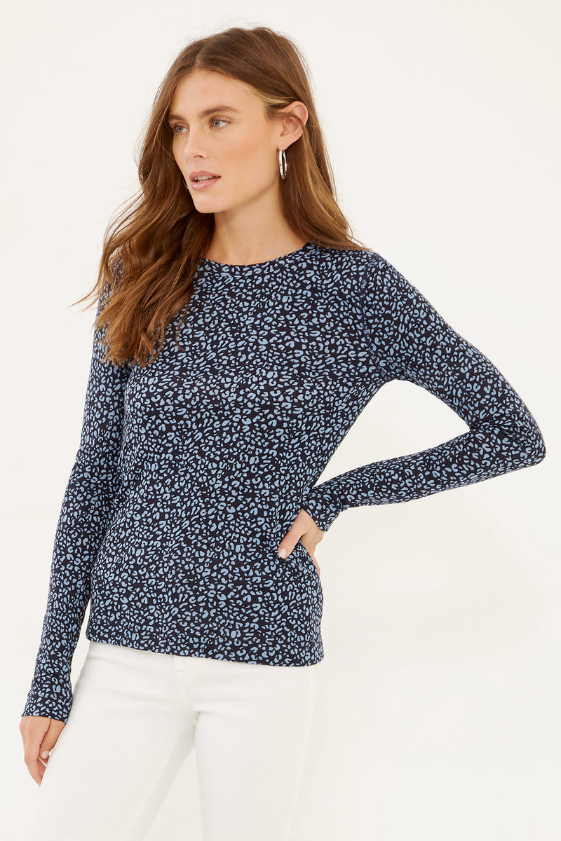 DUSTY BLUE LEOPARD