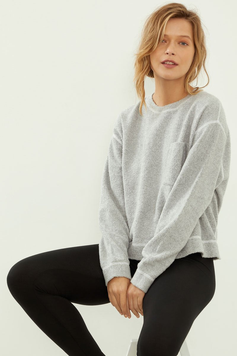 Cozy Fleece Top
