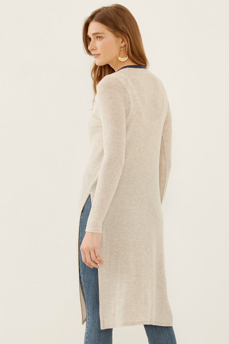 Three Dots Womens Brushed High Low Sweater