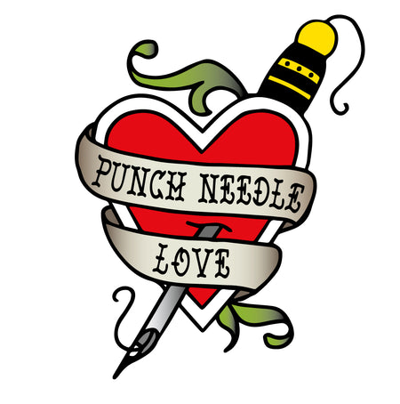 Punch Needle Love