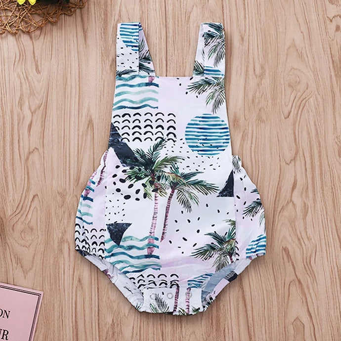 'Tropical' backless Bodysuit 6 - 18 months