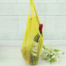 Load image into Gallery viewer, Reusable Mesh Cotton net Grocery Shopping Bag