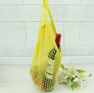Reusable Mesh Cotton net Grocery Shopping Bag